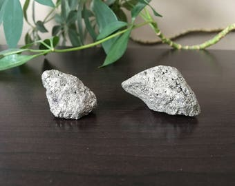 Pyrite - Pyrite Stone - Raw Pyrite - Pyrite Stones - Crystals for Abundance - Stones for Abundance