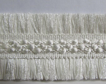 WHITE decorative flat trim 1.75 inch