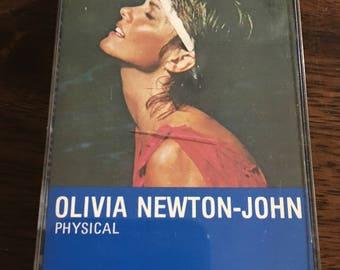 Olivia Newton-John Physical Cassette Tape