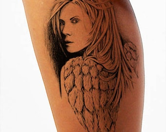 Temporary Tattoo-Valkyrie Tattoo-Gifts for Men-Tattoo Sticker-Gifts for Women