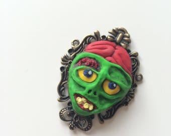 Patrick the Zombie Necklace