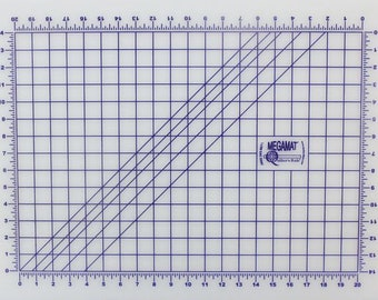 "48X96 Pinnable Mat - 48""X96"" Mat with 44"" x 92"" Grid"