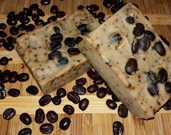 Exfoliating Coffee Goat Milk Bar Soap