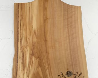 Custom chopping board in Olive wood