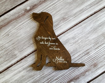 Pet Sympathy, Personalized Pet Memorial, Loss of Dog, Pet Signs, Pet Loss Gifts, Dog Memorial, Dog Sign, Memorial Pet, Memorial Gifts