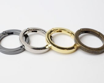 """1"""" Gate Ring / Spring Ring Clasp - 20 Pieces"""