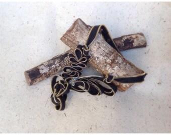 Zipper Sculpture Necklace