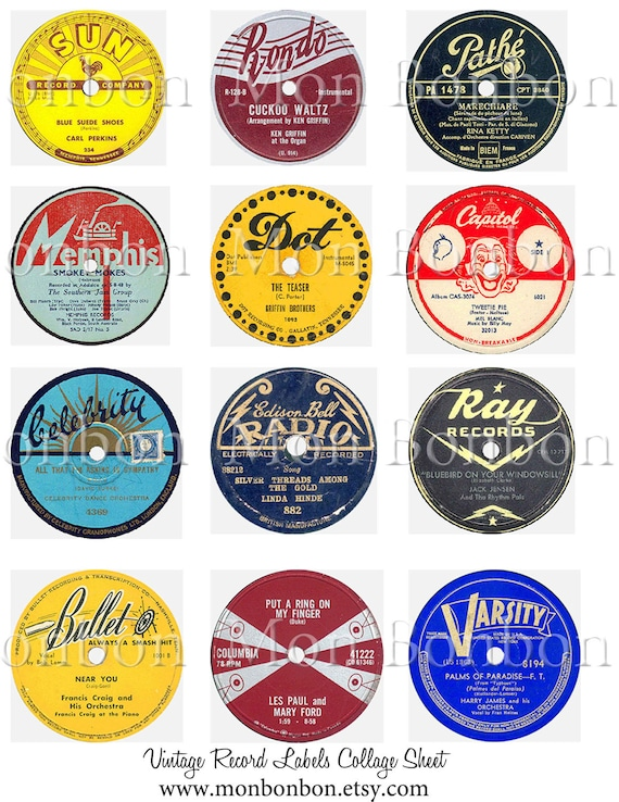 Unforgettable image inside printable vinyl labels