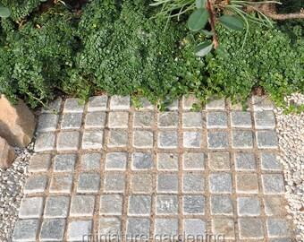 Retaining Wall or Patio for Miniature Garden, Fairy Garden