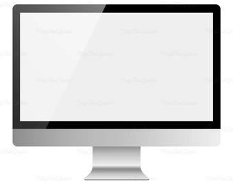 macbook pro laptop computer clipart silver laptop clip art rh etsy com mac clip art free images mac clipart gallery