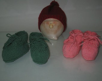 Newborn baby shoes,  baby shoes, acrylic baby shoes, baby booties, lace shoes baby