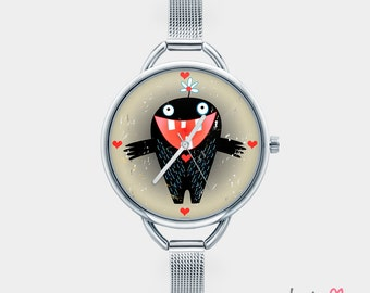Watch with graphic MONSTER OF LOVE
