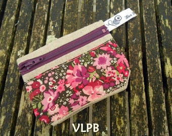 Wallet linen and Thorpe liberty rose