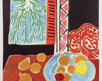 "Matisse 40 ""Travail et joie""  printed 1959 by Mourlot"