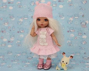 Cute Outfits for 1/8 BJD dolls  (Styles: Raspberry, Star, Rabbit, Romantic)