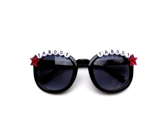 """Children's Llama """"Taboot Taboot"""" decorated sunglasses by Baba Cool 