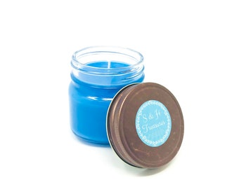 Cowboy - Pure Soy Candle - 8 ounce - Hand Poured - Masculine Scents - Man Cave - Fathers Day - Gift for Him - Home Fragrance - Air Freshener