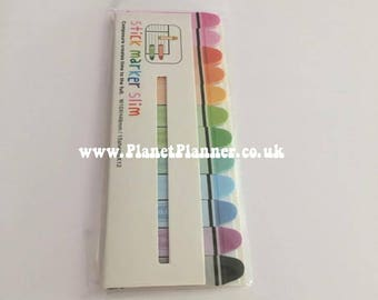 Page Markers, Crayon Page Markers, Rainbow Page Markers, Mini Post It Notes, Crayon Post It Notes, Post It Notes, Rainbow Stationery.