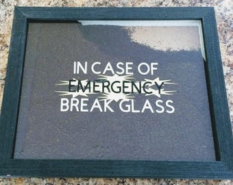 In Case of Emergency... Coffee Wall Hanging