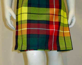 Baby Boy Kilt Buchanan Tartan Plaid ~Baby Kilt(2 or younger)Toddler Kilts (2-4)Youth Kilts(4-6)Custom make Boy kilts @sohoskirts