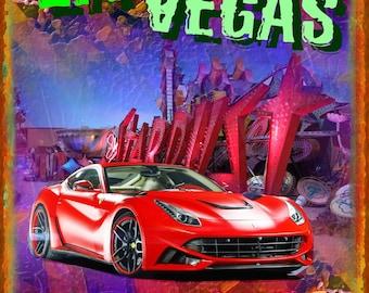 Ferrari In Las Vegas