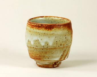 Matte glazed stoneware cup or yunomi