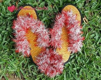 Funky Sandals Crochet Pattern