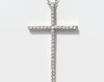 Cross, Cross Jewelry, Cross Gifts, Cross Necklace, Cross Charm, Silver Cross, Cross For Women • Absolutely Gorgeous and Priced to Grab