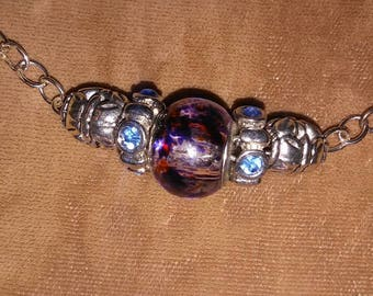 Troll Bead and Silver Necklace