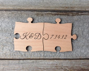 Custom Extra Large Puzzle Pieces Photo Prop - Wedding Decoration - Sign