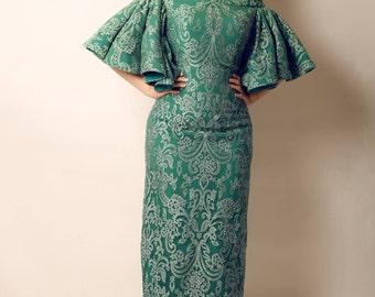 Classic Green Dress