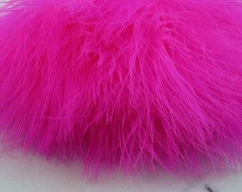 Pink  Marabou feathers MRDQ-14 craft feathers craft feathers wispy Craft feathers boutonnieres fly tying crafts