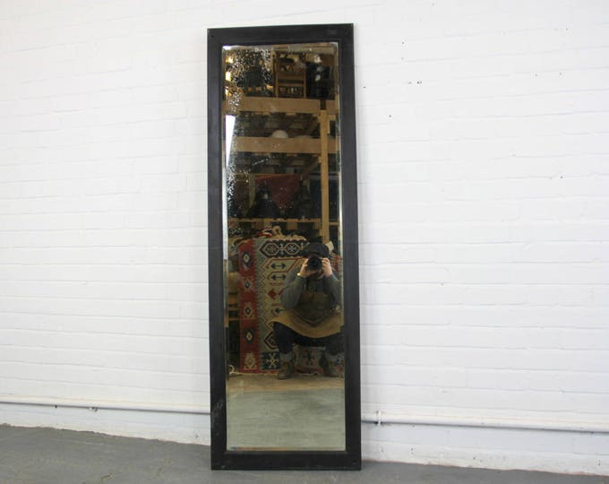 Large Early 20th Century Foxed Tailors Mirror Circa 1900