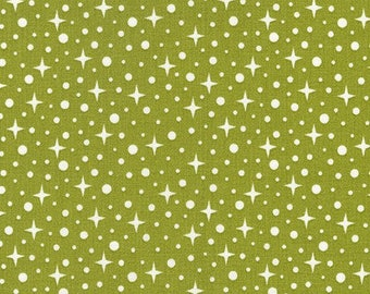 Terrarium (17281-49) Olive Starlight by Elizabeth Hartman