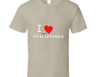 I Heart The Philippines T Shirt