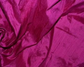 Silk Dupioni in Purple.Fat quarter-D 208