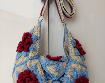 Crochet Bag with long strap (MADE TO ORDER)
