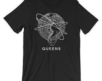 Queens Flushing New York Unisphere World's Fair Short-Sleeve Unisex T-Shirt
