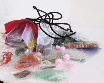 Jewelry making supplies, Unique Jewelry making,Jewelry Making Grab Bag, Craft Making Grab Bag, Grab Bag 10
