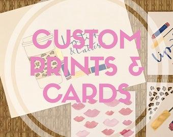 Custom Cards & Prints