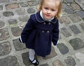 Manteau / Veste caban enfant