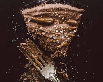 Food Photography, Vintage Brown, Wall Art, Rustic Art, Home Decor, Still Life Photography, Kitchen Decor, Restaurant Decor, Photography