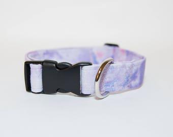 Purple Marble Dog Collar, Marble Collar, Marble Pattern Collar, Purple Marble Pattern Dog Collar, Cat Marble Collar, Cat Collar, Marble Dog