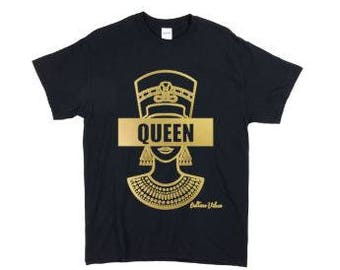 The Egyptian Queen - Black & Gold
