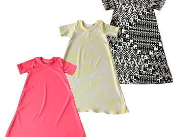 T shirt dresses for baby toddler and child