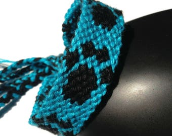 """Cat's paw"" pattern Friendship Bracelet, unisex"
