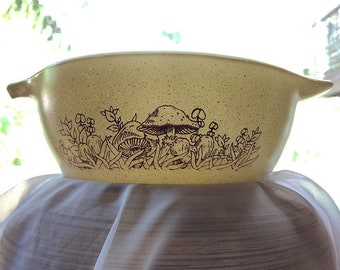 Vintage Forest Pyrex Mixing Bowl