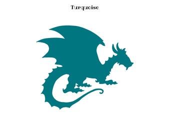 Motif thermocollant dragon,flex dragon, motif thermocollant,transfert textile thermocollant,appliqué dragon,flex thermocollant