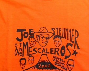 2002 JOE STRUMMER T SHIRT