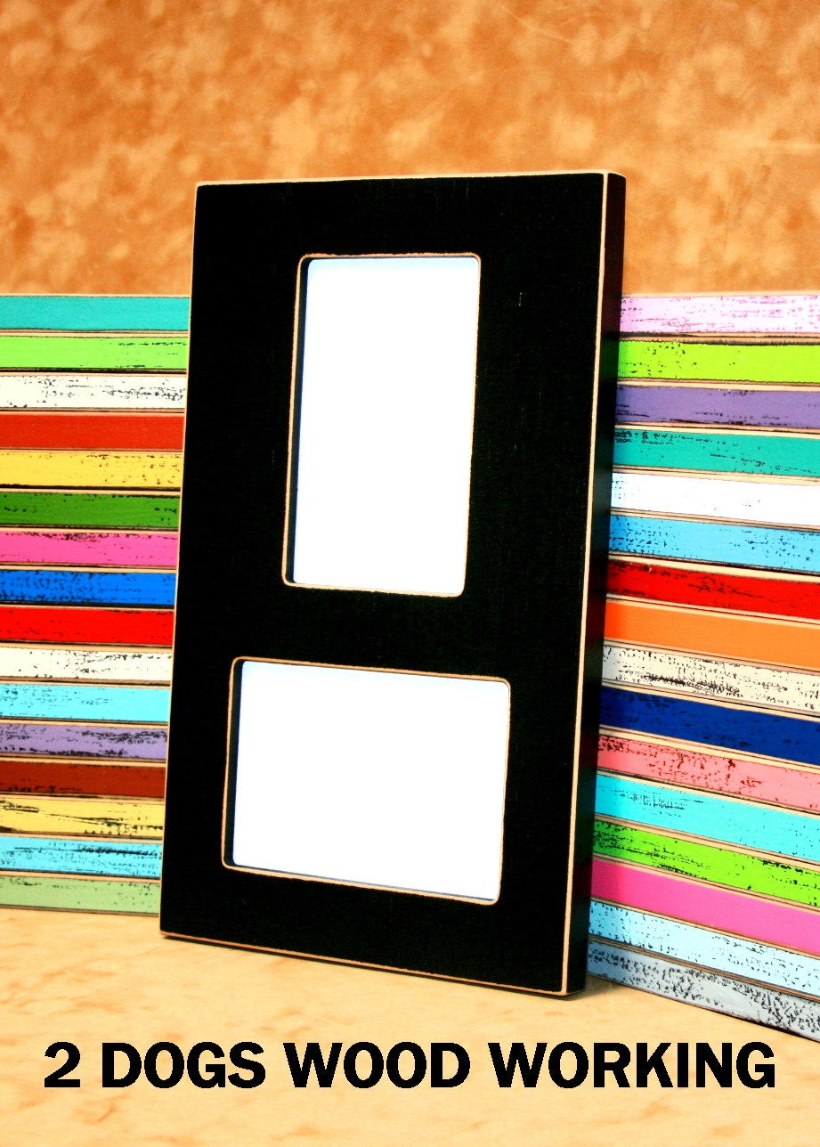 picture frame collage set double 4x6 collage frame vertical